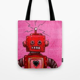 Orange-bot Tote Bag