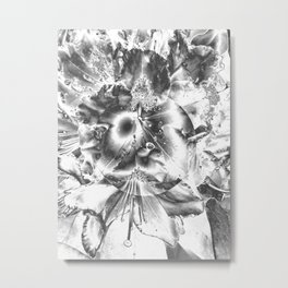 It's life in black and white Metal Print