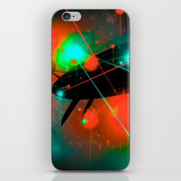 BATTLE - Heavy Metal Thunder Artwork iPhone Skin