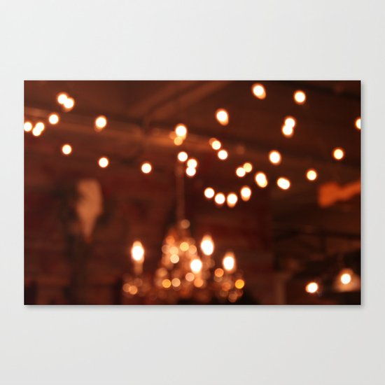 Lights 5 Canvas Print