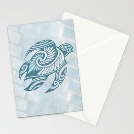 Hawaiian Tribal Turtle Stationery Cards