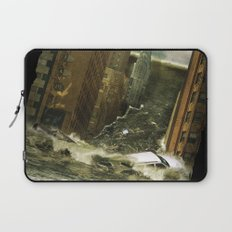 Water vs City Laptop Sleeve