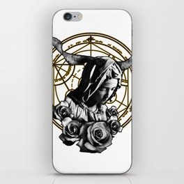 Virgin Mary Roses iPhone Skin