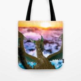 Ice Dragon 2 Tote Bag