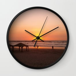 Shabbat Shalom From Tela-Viv Israel. Wall Clock