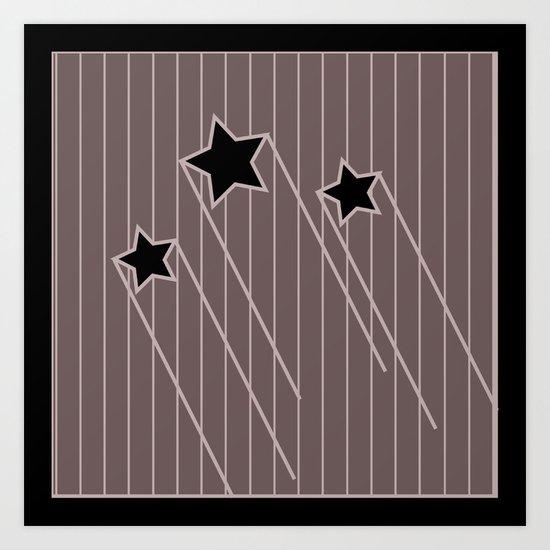 stars and stripes 3 Art Print