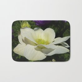 WINDFLOWERS AT HAND Bath Mat