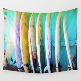 surfboards Wall Tapestry