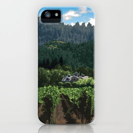 Napa Valley - Far Niente Winery, Oakville District iPhone Case