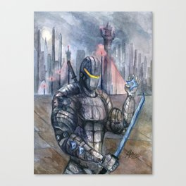 Ninjoid Warrior Canvas Print