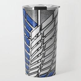 shield of shingeki  Travel Mug