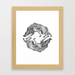 Wild Hair Framed Art Print