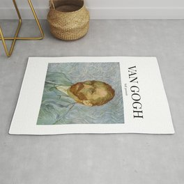 Van Gogh - Self Portrait Rug