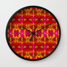 Like flowers and butterflies Wall Clock