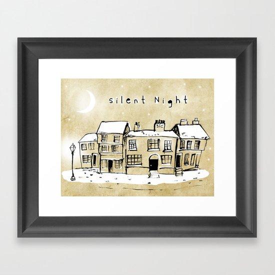 Silent Night 2 Framed Art Print