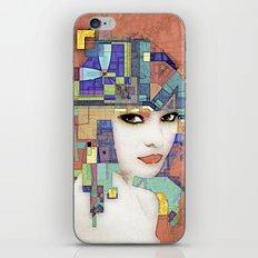 Nouveau Girl 2 (aged finish) iPhone & iPod Skin