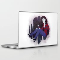 marceline Laptop & iPad Skins featuring Marceline by ribkaDory