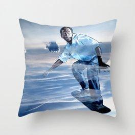 SKYSURFER Throw Pillow