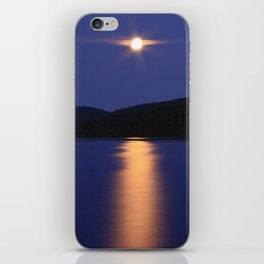 Blue Moon iPhone Skin