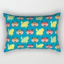 The Bandit Raccoons II Rectangular Pillow