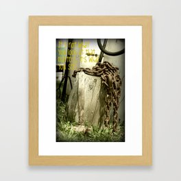The Hammer! Framed Art Print