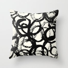 Tribal Dance Throw Pillow