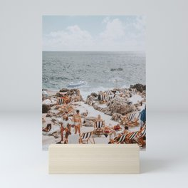 capri, italy Mini Art Print