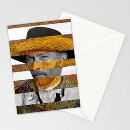 Van Gogh's Self Portrait and Lee Van Cleef Stationery Cards