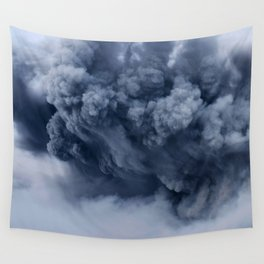 Ash Cloud Wall Tapestry