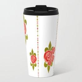 The roses in the garden. Travel Mug