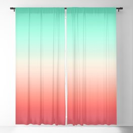 Color gradient background - fading sunset sky colors Blackout Curtain