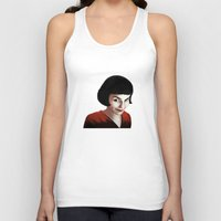 amelie Tank Tops featuring Amelie by Jon Cain