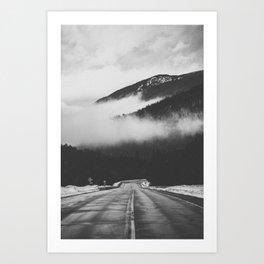 ON THE ROAD XVIII Art Print
