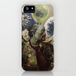 surviving great waves iPhone Case
