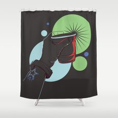 The Party Cup - v3 Shower Curtain