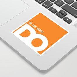 Cropped D.O. Logo Sticker