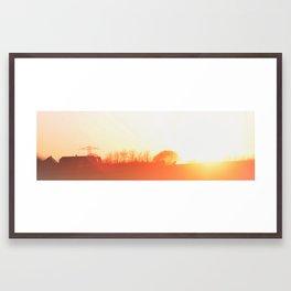 Modlys Traktor Framed Art Print