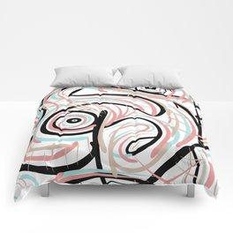 Swirly_Scrib Comforters