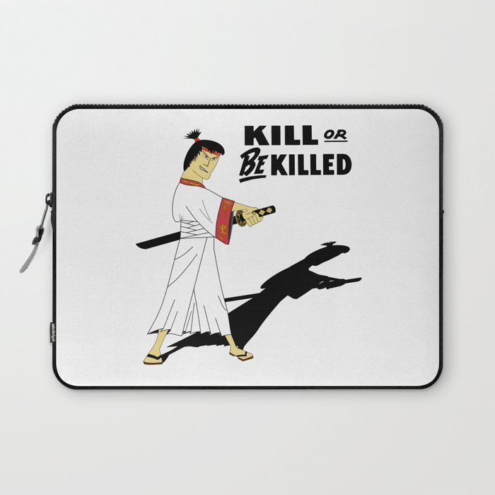 Japan Samurai Kill or be Killed Laptop Sleeve