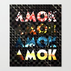Atoms for Peace: AMOK Canvas Print