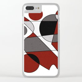Abstract #124 Clear iPhone Case