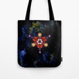 Symbol in space Tote Bag