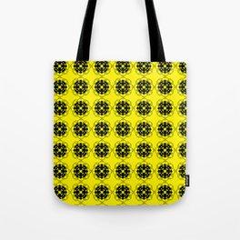 Yellow Custom Pattern Tote Bag