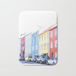 Colorful Reykjavik Homes Bath Mat