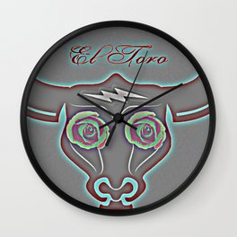El Toro Wall Clock