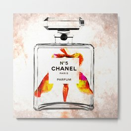 Bottle of Perfume Metal Print