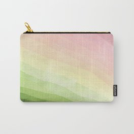 Stratum 8 Pastel Greenery Carry-All Pouch