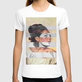 Delacroix's Orphan Girl at the Cemetery & Sophia Loren T-shirt