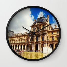 The Louvre museum Wall Clock