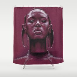Gorgeous african Shower Curtain